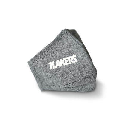 Tlakers 3 vrstvové rúško sivé