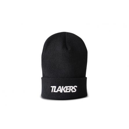 Tlakers zimná čiapka logo čierna