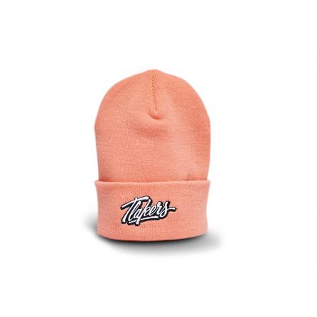 Tlakers zimná čiapka logo korálová