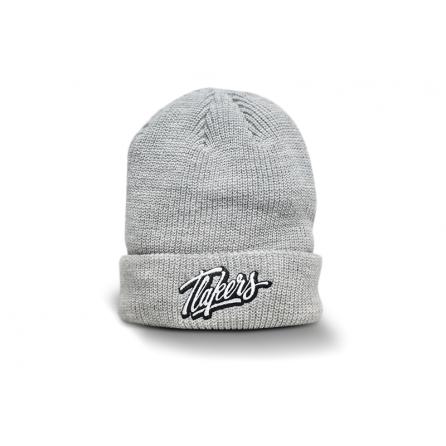 Tlakers zimná čiapka logo sivá