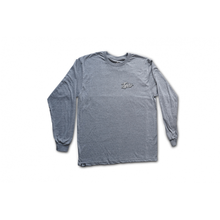 Tlakers long sleeve tričko sivé