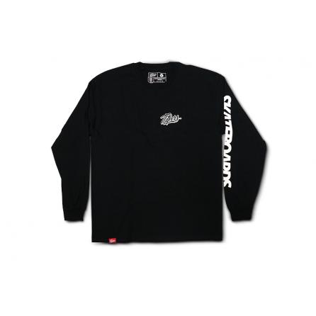 Tlakers longsleeve tričko čierne