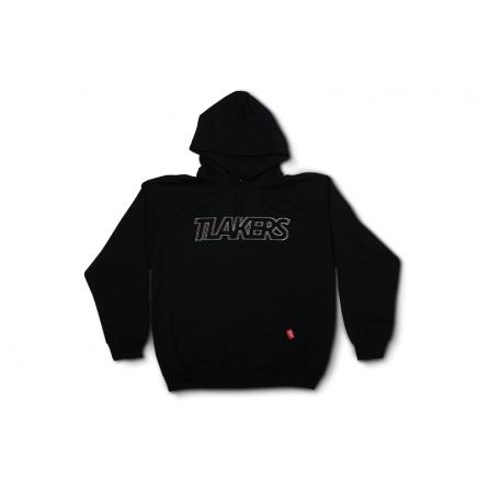 Tlakers logo mikina čierna