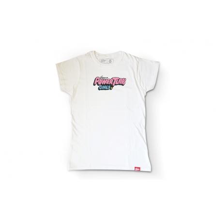 Tlakers PTG tričko biele