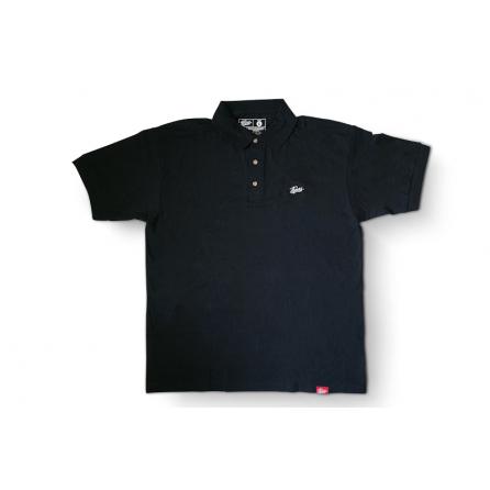 Tlakers polo tričko čierne